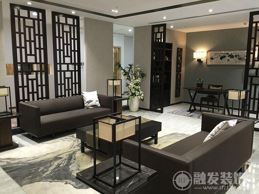安慧里四区 72㎡ 一居 新中式风格装修案例