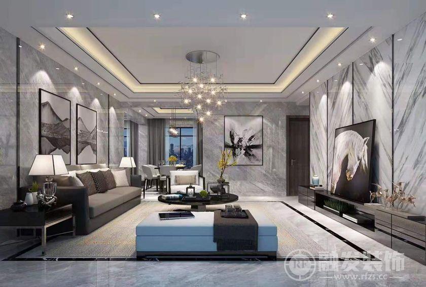 129㎡怡海花园 三居室装修 设计无界,生活有度