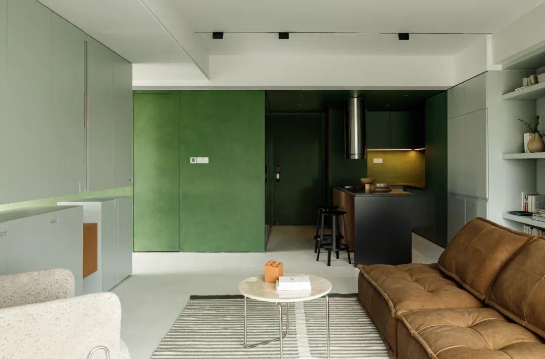 48 万打造 75㎡ 两居室,开放式空间布局,漂亮又上档次!